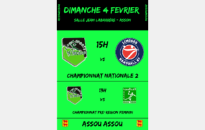 Asson - Limoges Nationale 2